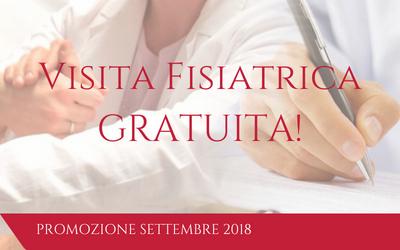 Settembre: Visita Fisiatrica Gratuita!