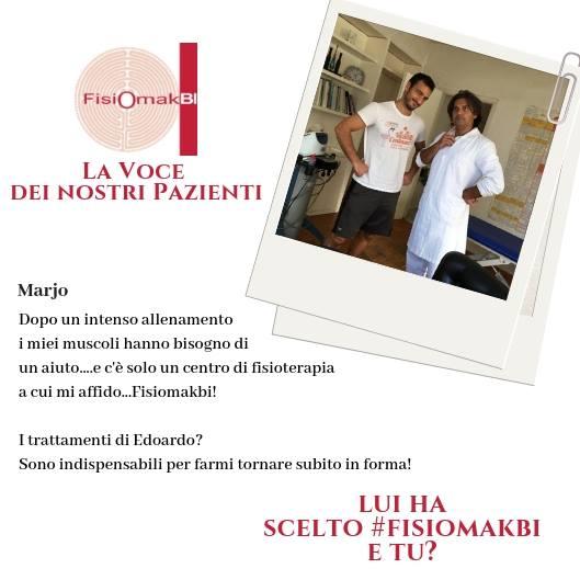 Fisioterapia professionalità | www.fisiomakbi.it