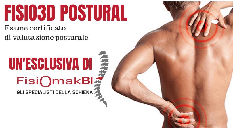 FISIO3D  POSTURAL – valutazione posturale innovativa